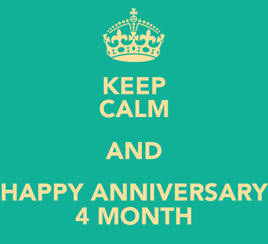 Happy 4 Months Anniversary Quotes Quotes