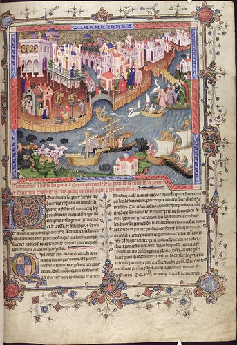 The Romance of Alexander 218r MS. Bodl. 264