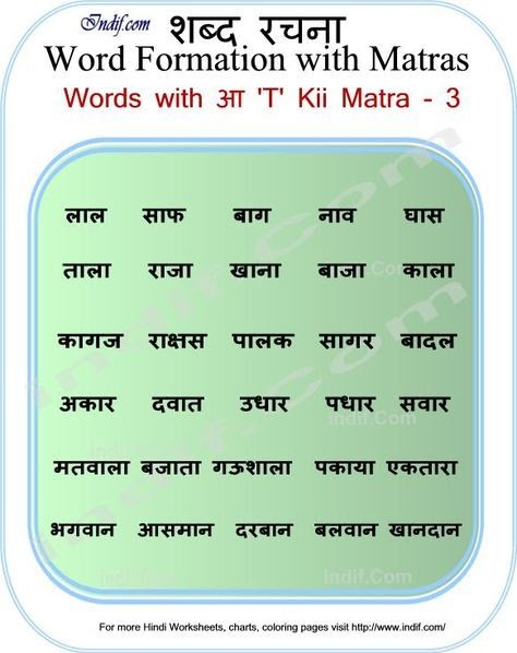 14 INFO 4 LETTER WORDS IN HINDI WITHOUT MATRA PDF DOCX ...