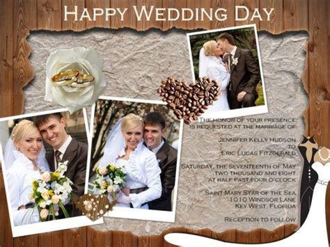 Wedding Invitation Card Add on Templates   Download Free