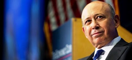 Goldman Sachs CEO Lloyd Blankfien speaks during an interview by the Economic Club of Washington, 07/18/12. (photo: Getty Images)