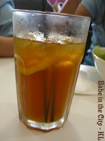SK - iced lemon tea
