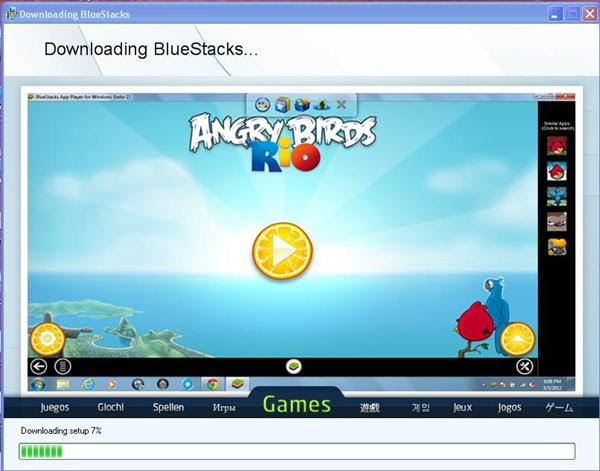 free android emulator for windows xp