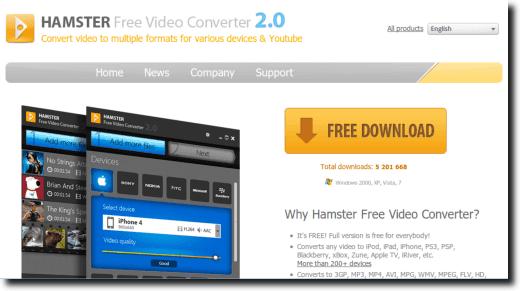 Free Video Converter Website