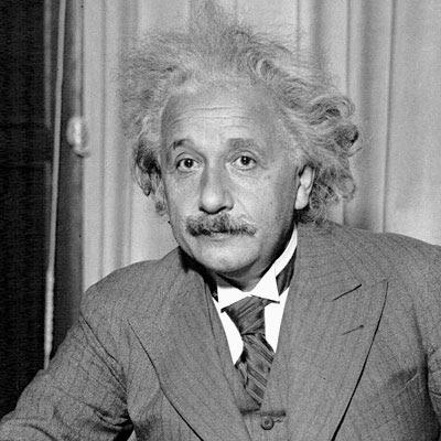 Albert Einstein en una foto de 1925, año de su visita a la ciudad de Buenos Aires