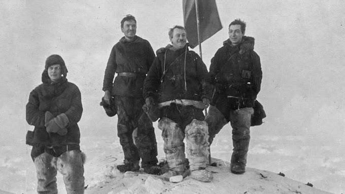 Quando cientistas soviéticos flutuaram sobre um bloco de gelo por 274 dias