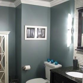 Top 10 Silver And Blue Bathroom Ideas Pics