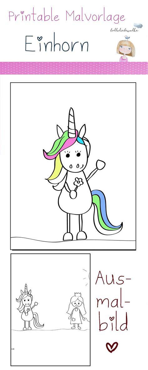 malvorlage einhorn regenbogen  kostenlose malvorlagen ideen