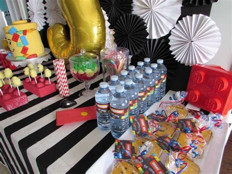 Lego Birthday Party Ideas   Photo 6 of 11   Catch My Party