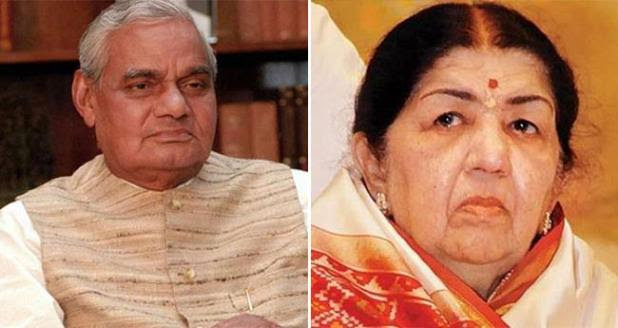 I Have Lost My Father All Over Again, Says Lata Mangeshkar On Atal Bihari Vajpayee