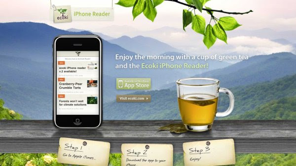Ecoki iPhone Reader