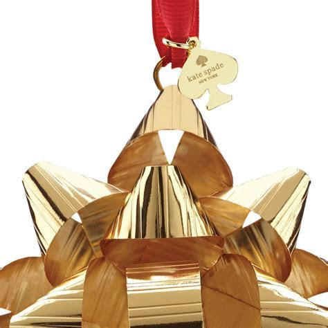 kate spade Gold Tinsel Topper Ornament   Silver Superstore