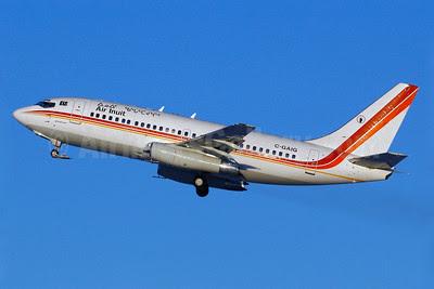 Air Inuit Boeing 737-2S2C C-GAIG (msn 21928) YUL (Gilbert Hechema). Image: 904351.