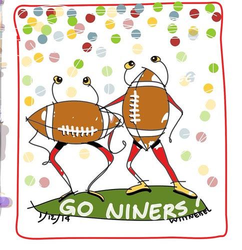 Go Niners! by douglaswittnebel