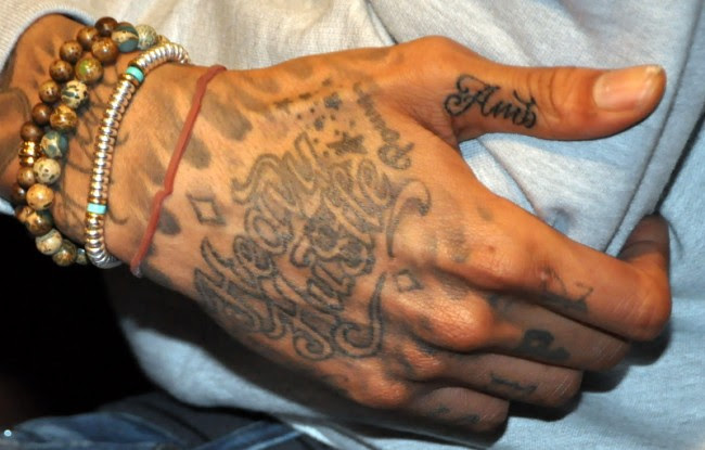 All Wiz Khalifa Tattoos Meanings - Amber Rose, Face & etc.