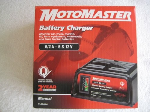 motomaster intelligent battery charger manual