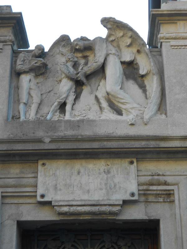 Amgelo, Virgilio Milani, collegio vescovile angelo custode, Rovigo