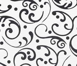 Free Black White Pattern Twitter Background Vintage Floral