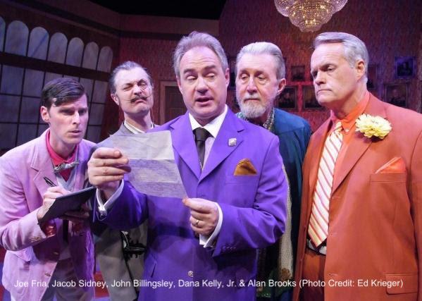 Joe Fria, Jacob Sidney, John Billingsley, Dana Kelly, Jr. & Alan Brooks (Photo Credit: Ed Krieger)