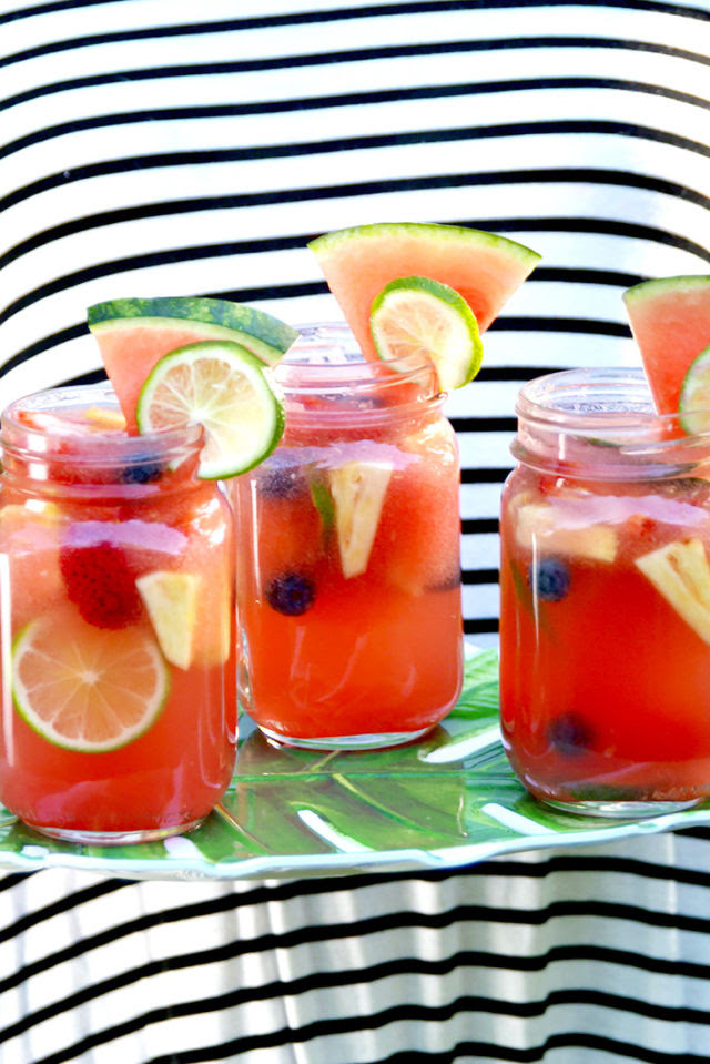 Watermelon Sangria Vertical