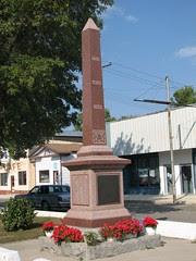 Glenboro MB War Memorial