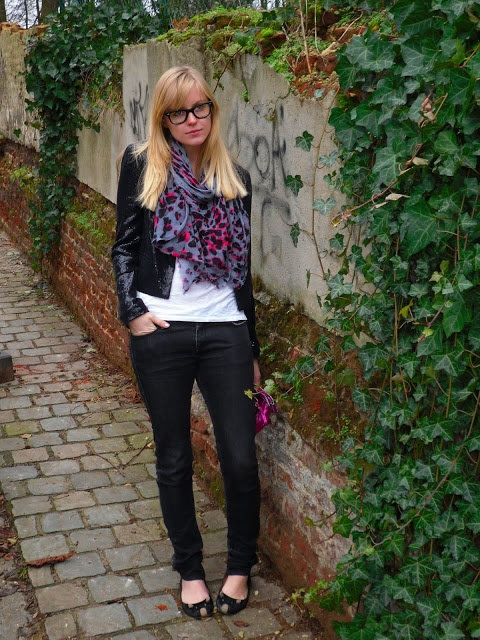 Style playground: Todays outfit: pink leopard