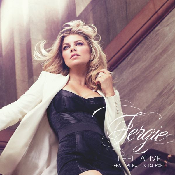 Feel Alive (Single Cover), Fergie