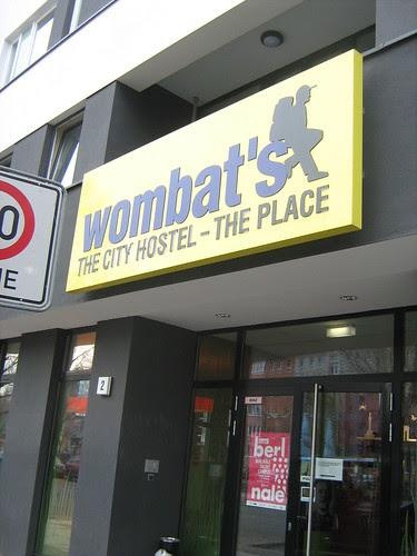 Wombats hostel