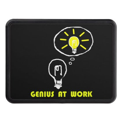 Genius at work trailer hitch cover