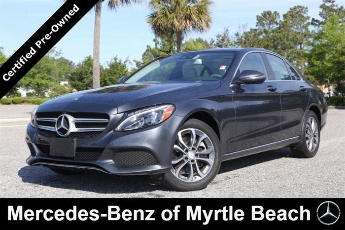Certified 2016 Mercedes-Benz C 300 4MATIC Sedan MYRTLE ...