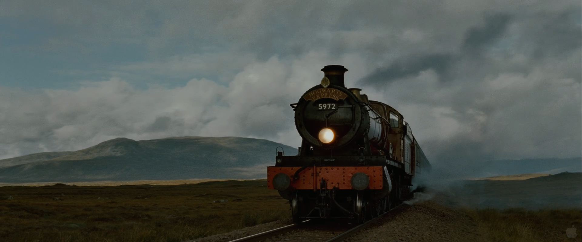 Hogwarts Express Train From Harry Potter And The Deathly Hallows