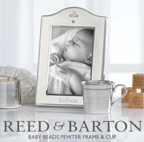 Reed Barton Timeless And Elegant The Silver Plate Frame And Cup