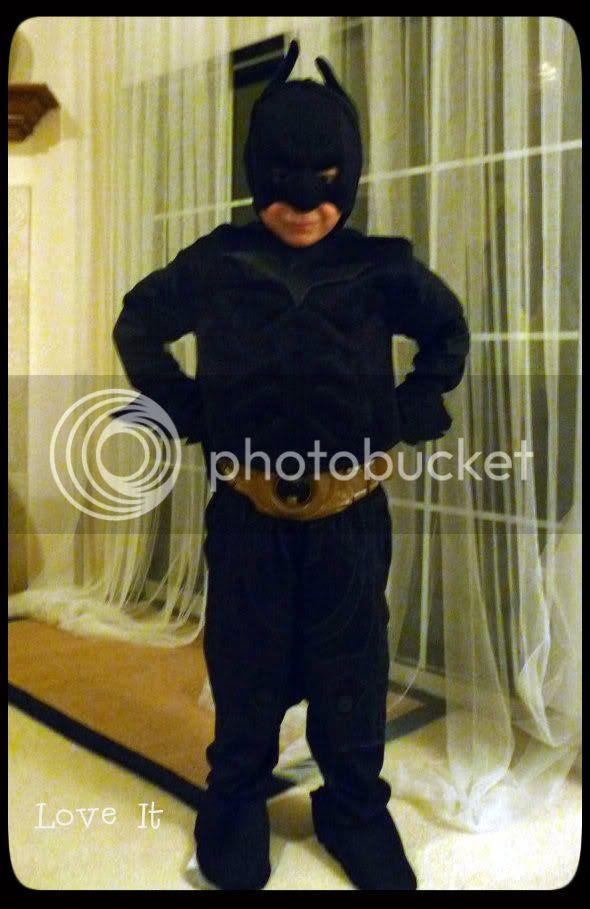 batman kids Halloween costume