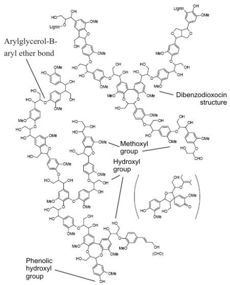 struktur lignin