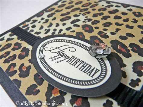 A Leopard Print Birthday ? Cards By Stephanie