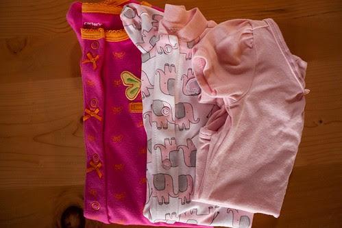 Diaper Bag fillings