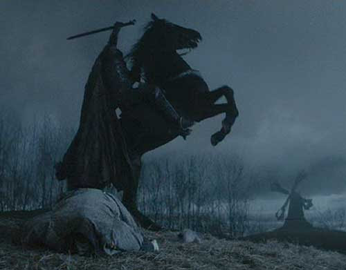 Resultado de imagem para the legend of sleepy hollow movie 1999