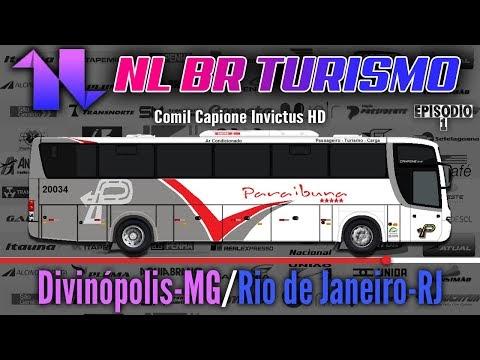 Paraibuna Transportes | Divinópolis-MG | Rio de Janeiro-RJ