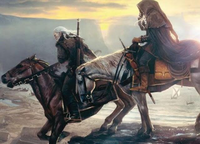 Geralt vai finalmente ser acompanhado por Ciri? Isso pode ser sugerido por exemplo, esta tela do Game Informer em que Witcher 3 foi anunciado. - Esboço da História - The Witcher 3: Wild Hunt (em breve) - Guia do Jogo e Passo a passo
