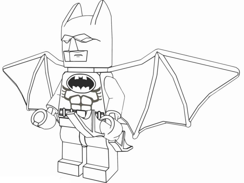 Lego Batman Coloring Pages Cartoon Archives Printable Free