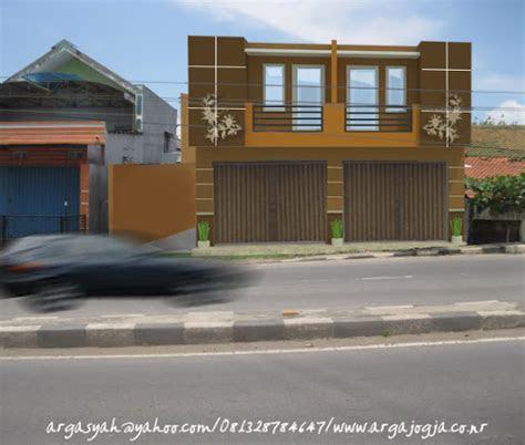 ruko minimalis 1 lantai - desain rumah