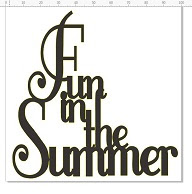 Fun in the summer 100 x 100  pack of 5 individually packaged PRI