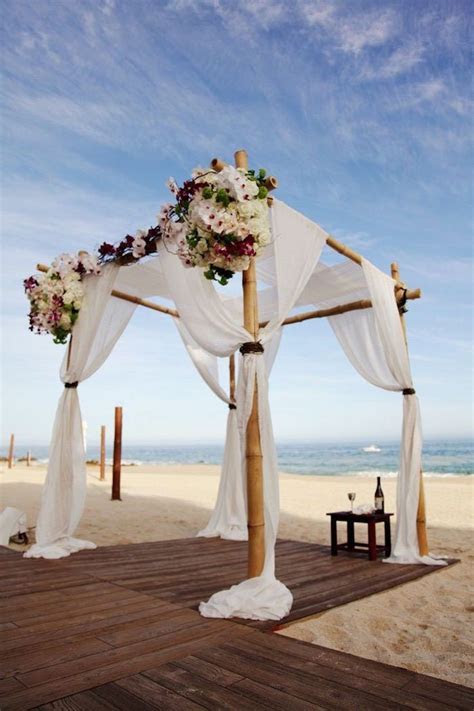 Stunning Beach Wedding Ceremony Ideas   Wedding photos