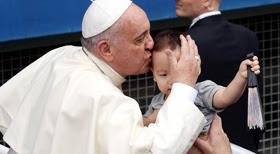 프란치스코 교황 訪韓… 이 땅의 상처를 보듬다