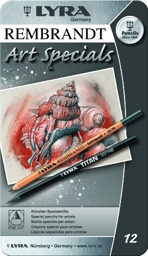 2001123 Rembrandt Art Specials Pencils Assorted Colors Set Of 12 Lyra