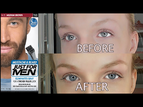 Beauty & Personal Care: just for men eyebrows before and after