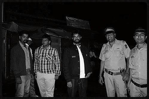 Hot Shot South Director Vijay Shoots Thalaiva  Car Chase At Bandra Bazar Road by firoze shakir photographerno1