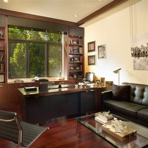 home office  men design ideas pictures remodel