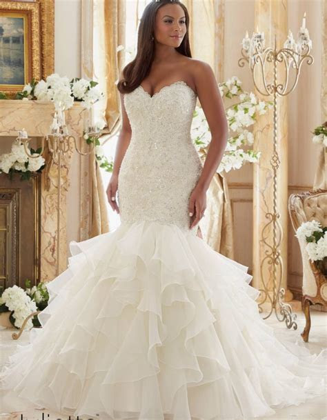 Plus Size Wedding Gowns   Mori Lee   Julietta Collection