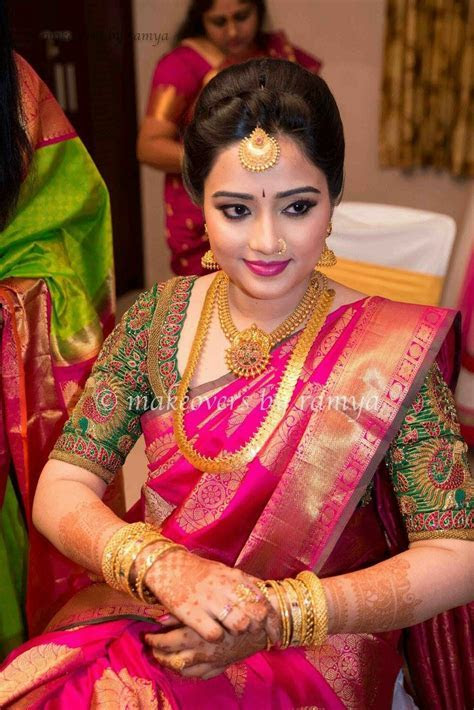 Indian bride   Weddings   Bridal blouse designs, Saree